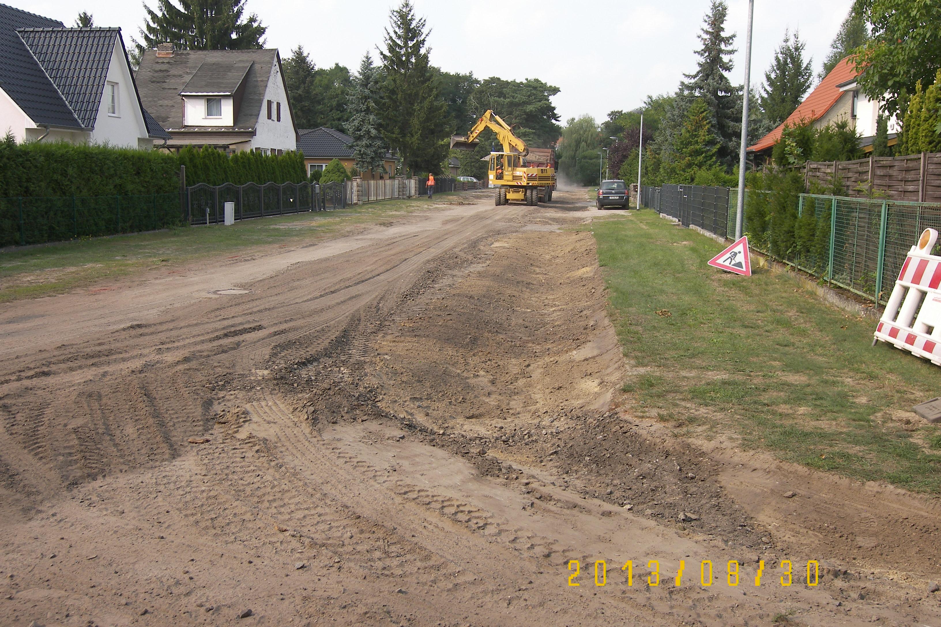 100 5535 Wassergebundene Strassen in Siedlungen