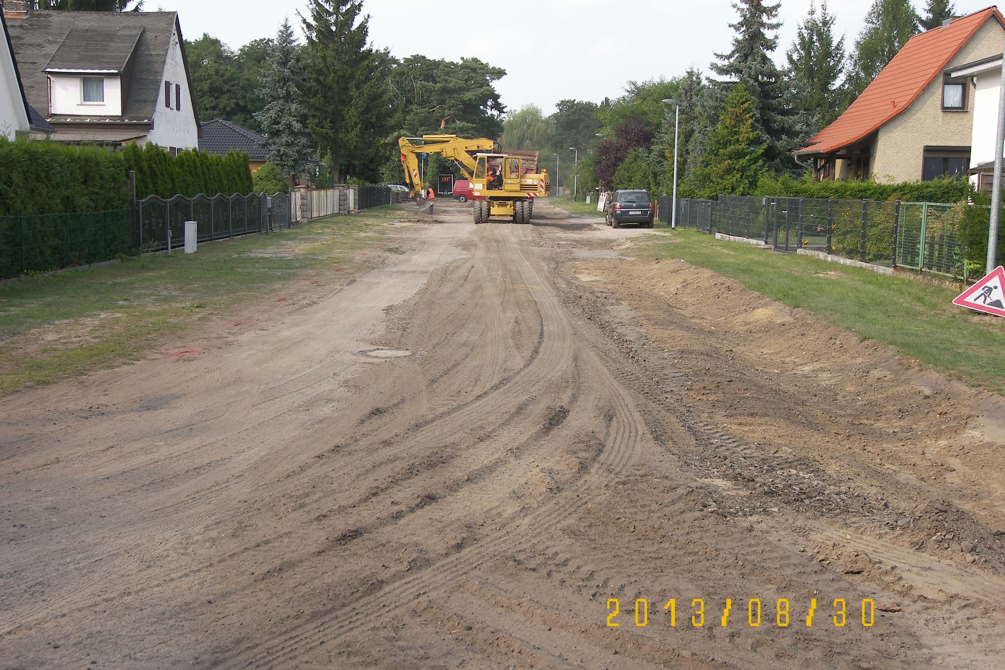 100 5536 Wassergebundene Strassen in Siedlungen
