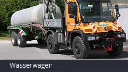 wasserwagen MB Trac